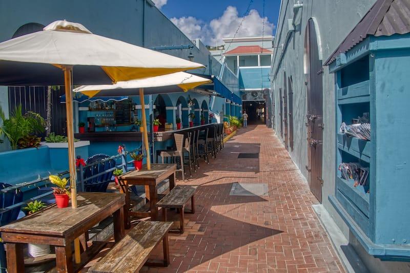 Charlotte Amalie historic town