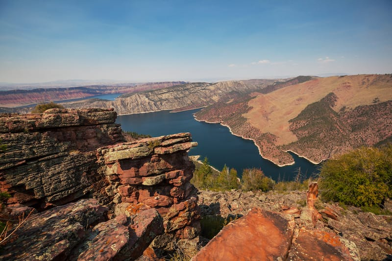 Flaming Gorge near Green River