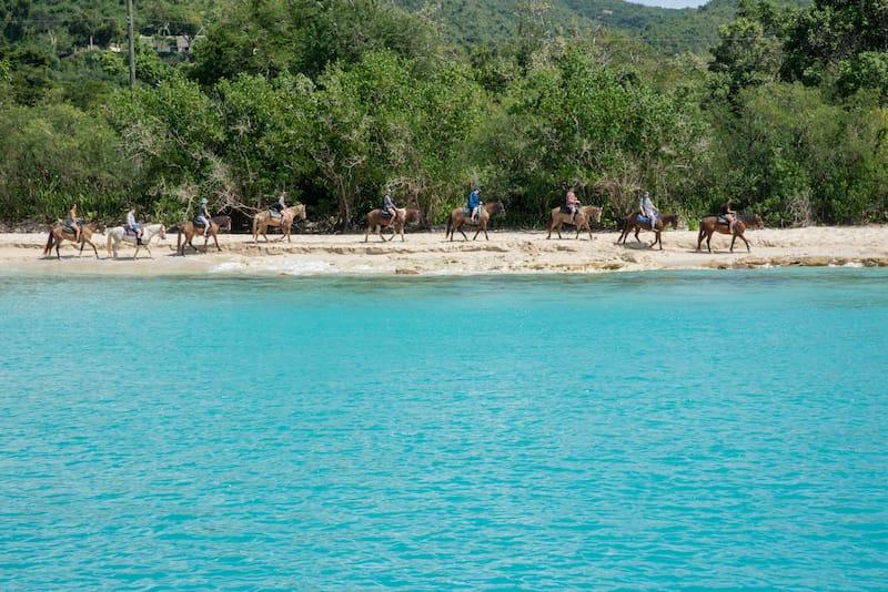 Horseback riding in St. Croix - EA Given - Shutterstock.com