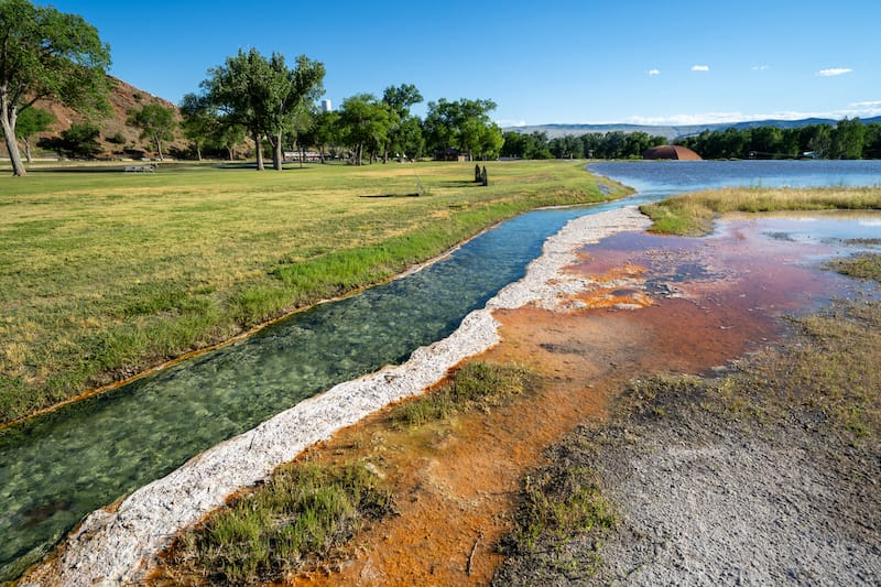 Hot Springs State Park in Thermopolis