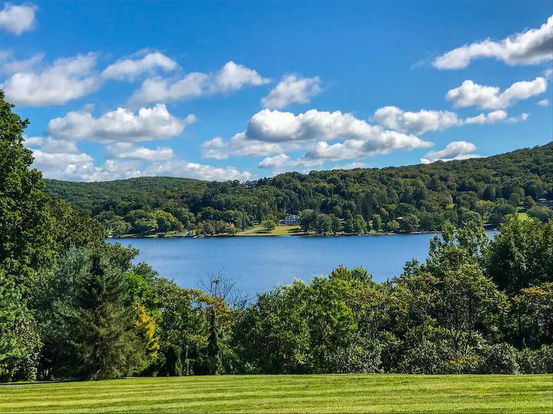 Lake Waramaug State Park in Connecticut