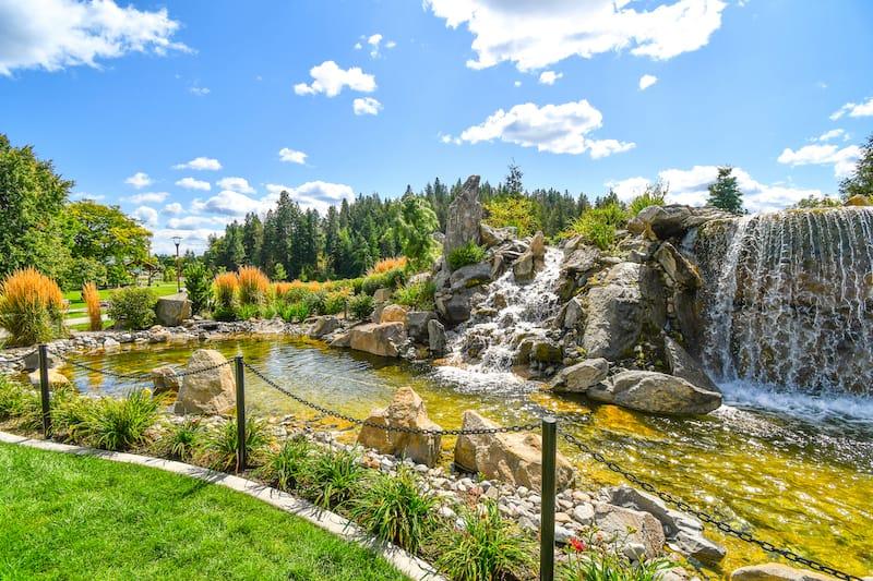 McEuen Park in Coeur d'Alene