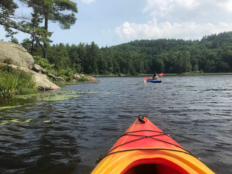 Pawtuckaway State Park in New Hampshire