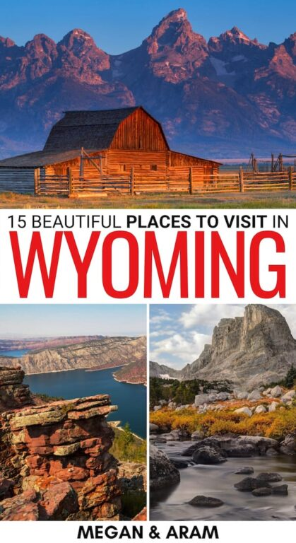 Looking for the best places to visit in Wyoming for your upcoming trip? These destinations are perfect for your Wyoming bucket list! Learn more here! | Things to do in Wyoming | Wyoming destinations | Wyoming national parks | Places in Wyoming | WY bucket list | Wyoming itinerary | Wyoming attractions | Landmarks in Wyoming