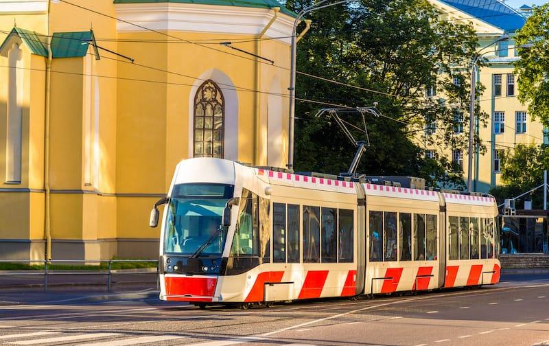 Public transportation in Tallinn