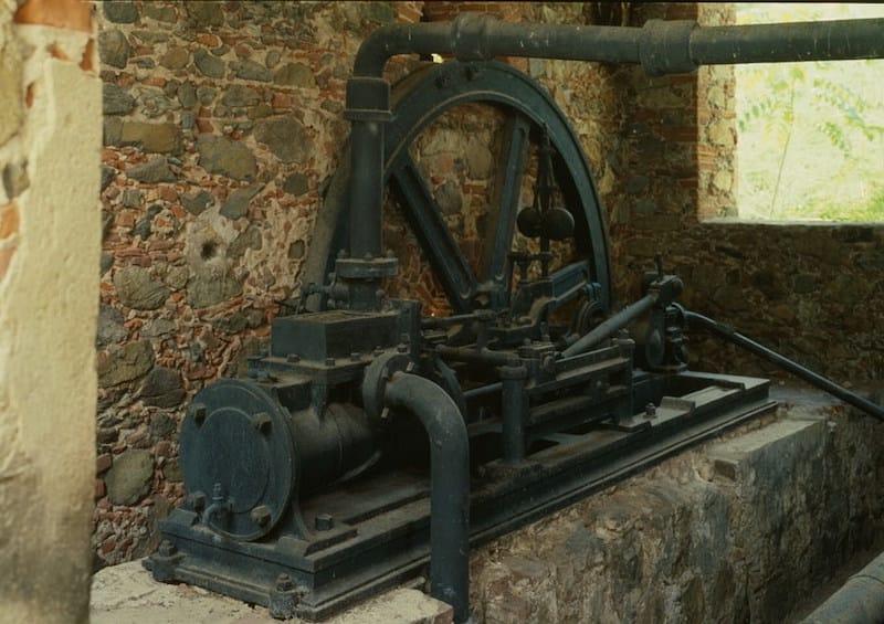 Reef Bay Sugar Factory Steam Engine