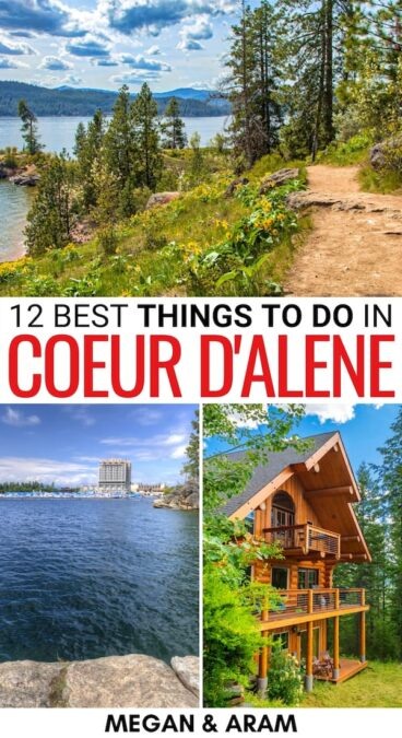 Looking for the top things to do in Coeur d'Alene, Idaho? This guide covers the best attractions, including museums, historical sights, and hiking trails. | Coeur d'Alene things to do | What to do in Coeur d'Alene | Places to visit in Coeur d'Alene | Places to visit in Idaho | Idaho bucket list | Coeur d'Alene hiking | Coeur d'Alene attractions | Coeur d'Alene museums | Coeur d'Alene landmarks | Coeur d'Alene rafting | Things to do in North Idaho