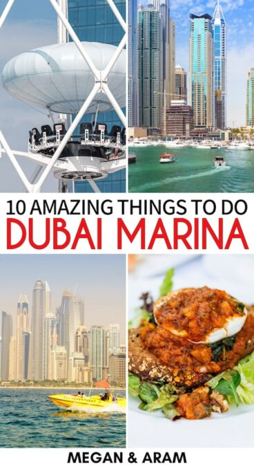 Planning a trip to Dubai and looking for the best things to do in Dubai Marina? This guide has you covered - from tours to sights to hotels and more! Learn more! | Things to do in Dubai | Dubai Marina travel guide | What to do in Dubai | Dubai Marina attractions | Dubai Marina landmarks | Fishing in Dubai | Skydiving in Dubai | Dubai boat tours | Dubai dhow cruise | Brunch in Dubai | Dubai Marina Mall | Zipline in Dubai | Fishing in Dubai | Dubai Marina sightseeing | Visit Dubai Marina