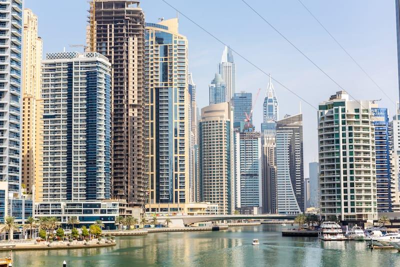 ZIplining Dubai Marina - Cleop6atra - Shutterstock.com