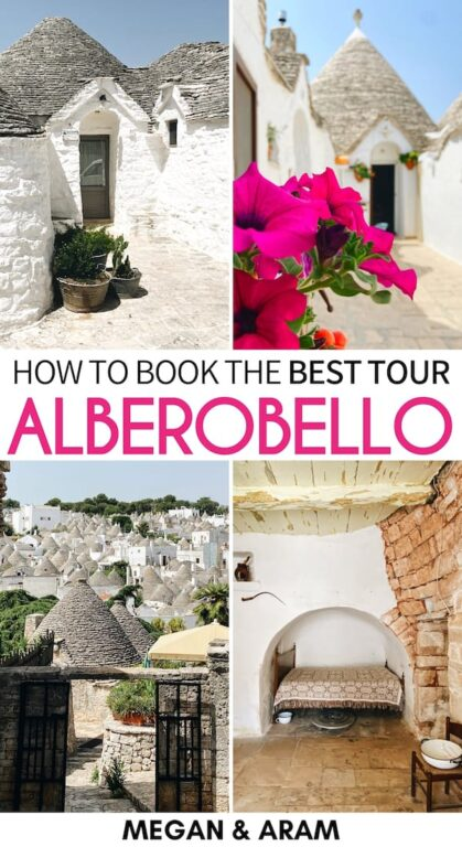 Are you looking for the best Alberobello tour? This incredible tour of Alberobello with Turisti in Puglia offers several options and is superb! Read more here!   Day trip to Alberobello   Alberobello day tour   Travel to Alberobello   Alberobello itinerary   Things to do in Alberobello   Visit Alberobello   Alberobello city tour   Puglia tour