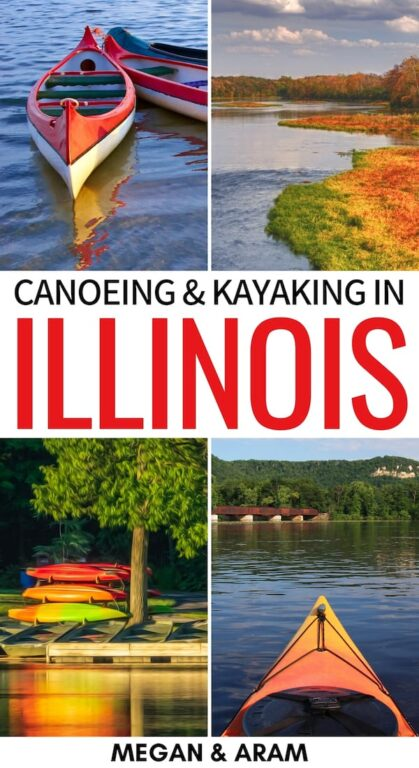 Are you looking to go kayaking or canoeing in Illinois? This guide details the best places to go kayaking in Illinois, the rules, and rental information. | Kayak Illinois | Canoe Illinois | Illinois Kayaking | Illinois Canoeing | Things to do in Illinois | Kayaking in IL | Canoeing in IL | Renting canoes in Illinois | Places to visit in Illinois | Illinois Rivers | Illinois things to do