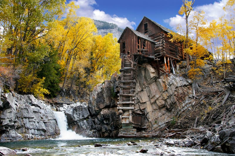 Crystal Mill in Marble