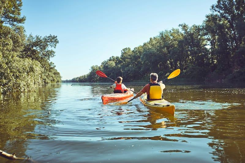 Illinois canoeing trip