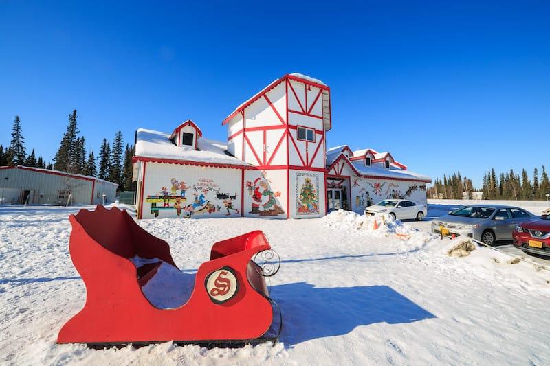 North Pole, AK - Kit Leong - Shutterstock.com