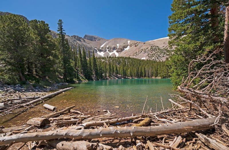 Teresa Lake in Summer in Great Basin National Park in Nevada