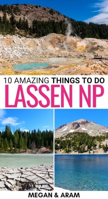 Planning your trip to some of California's national parks? These are the best things to do in Lassen Volcanic National Park - including attractions and hikes! | Lassen National Park things to do | Things to do in Lassen National Park | Hiking in Lassen National Park | Lassen Volcanic National Park trails | What to do in Lassen National Park | California national parks | California mountains | California hiking | California places to visit | California volcanoes