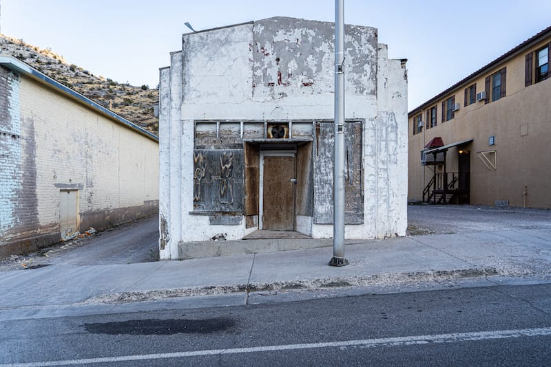 Abandoned town of Pioche