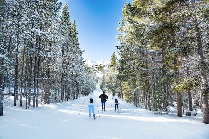 Cross-country skiing in Breckenridge - Margaret.Wiktor - Shutterstock.com
