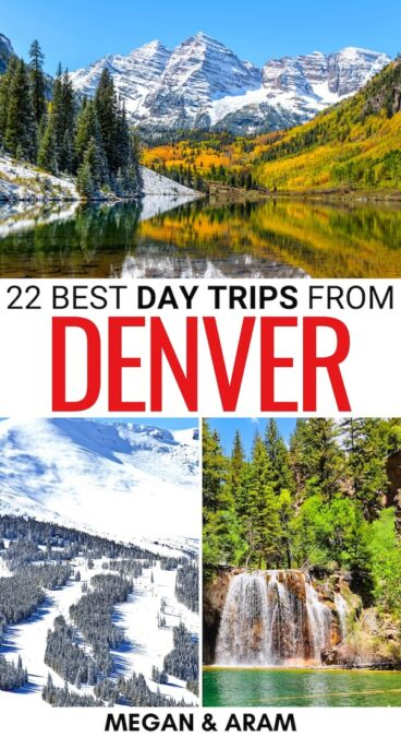 Looking for the best day trips from Denver? These Denver day trips offer a diverse array of destinations - from national parks to cities and more! Learn more!   Weekend trips from Denver   Weekend getaways from Denver   Places to visit near Denver   Denver itinerary   Places to visit in Colorado   Denver things to do   Things to do in Denver   Visit Colorado   Colorado itinerary   Denver road trips
