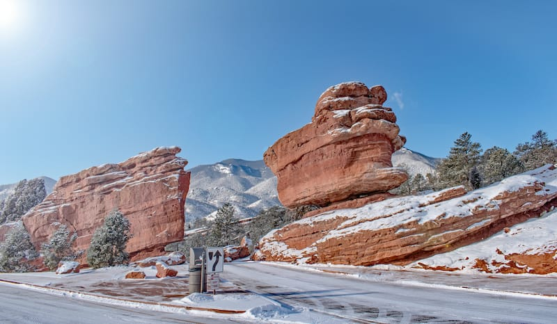 Getting to Garden of the Gods