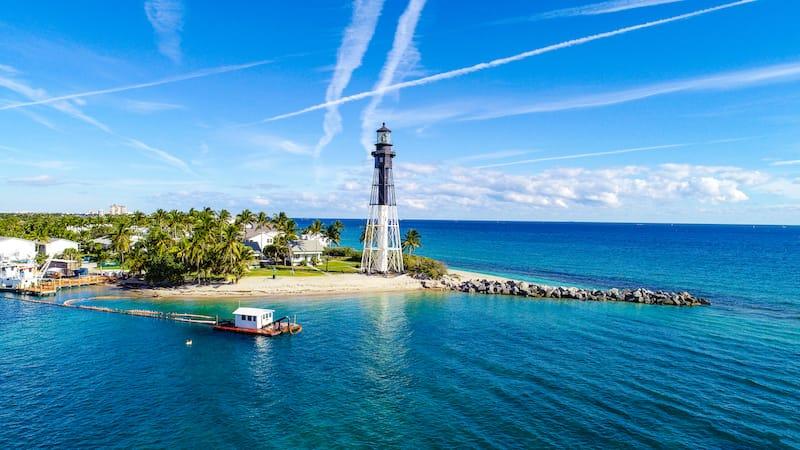 Hillsboro Inlet Lighthouse - best lighthouses in Florida