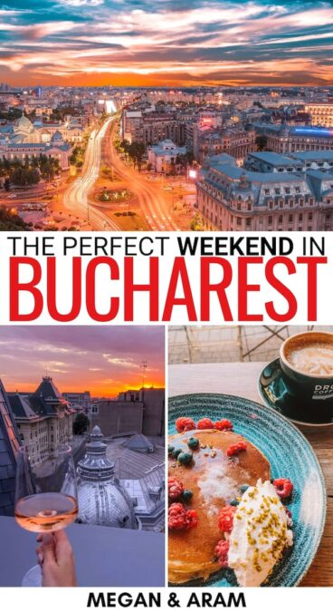 Looking to travel to Romania and spend a weekend in Bucharest? This 2 days in Bucharest itinerary tells you things to do, where to stay, and much more!   Itinerary for Bucharest   Two days in Bucharest   Bucharest 2 days itinerary   Bucharest for a weekend   Romania weekend trip   Bucharest stag do   Bucharest hen do   Things to do in Bucharest   Bucharest sightseeing   Bucharest things to do