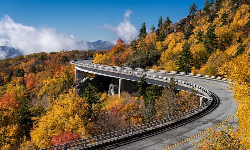 Blue Ridge Parkway in October
