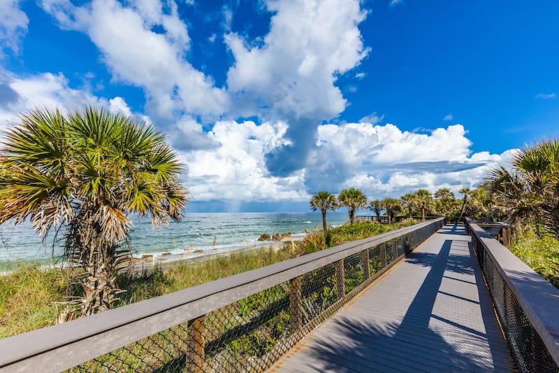 Caspersen Beach in Venice Florida