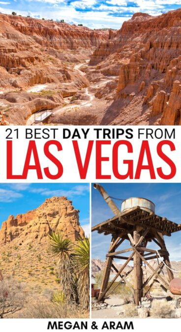 Are you looking into the best day trips from Las Vegas? This guide has several diverse and unique Las Vegas day trips and includes a map to help you plan! | Places to visit near Las Vegas | Vegas day tours | Things to do in Las Vegas | Las Vegas to Zion National Park | Las Vegas to Valley of Fire | Zion day trip | Bryce Canyon day trip | Weekend getaways from Las Vegas | Weekend trips from Las Vegas | Best places to visit in Nevada | Places to visit in Utah | Vegas to Death Valley