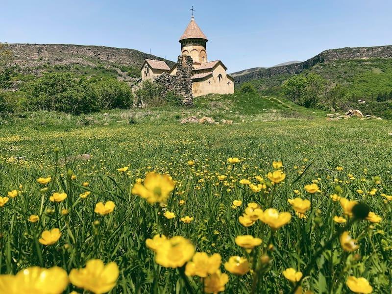 Hnevank Monastery is a lesser-visited gem in Lori region