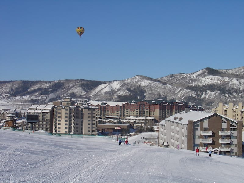 Hot Air balloon in Steamboat