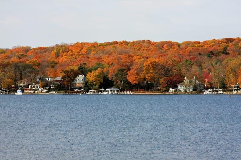 Lake Geneva in October