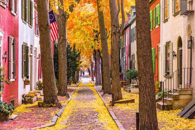 Philadelphia in October