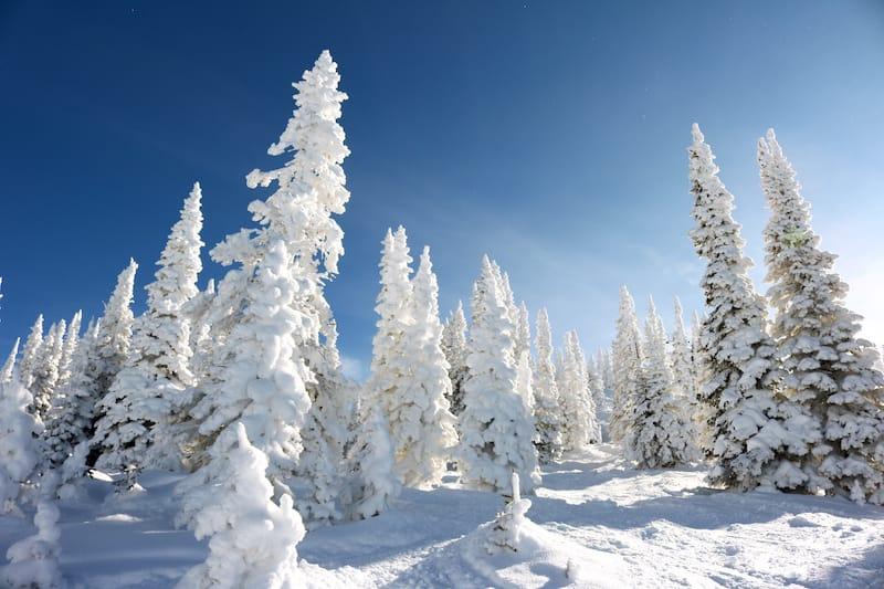 Steamboat Springs in winter