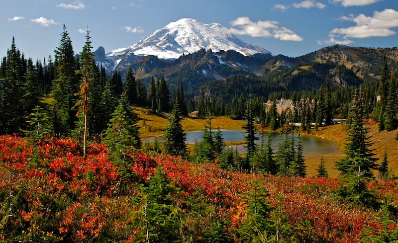 Washington Cascades in October