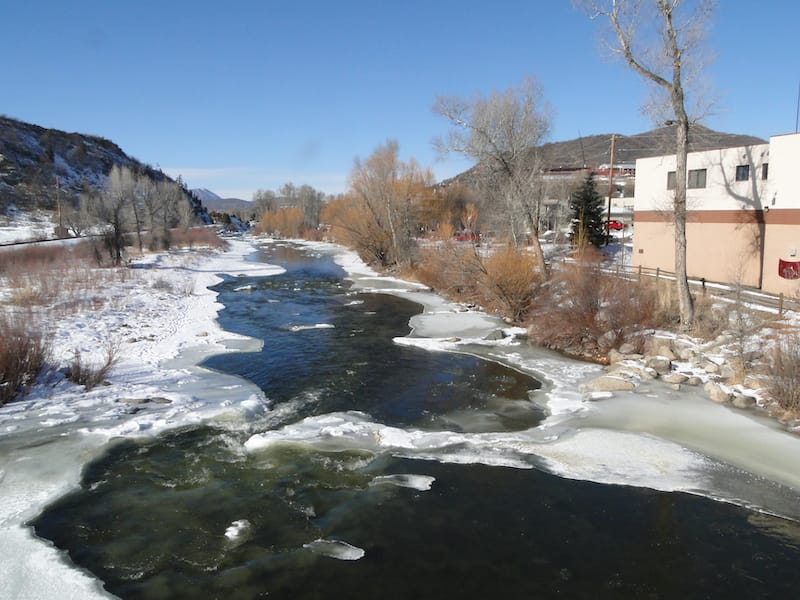 Yampa River in Steamboat
