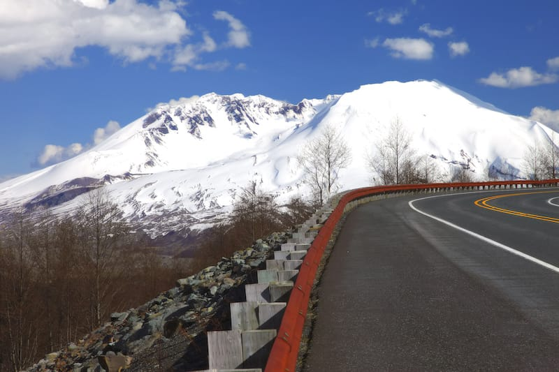 Early winter at Mt St Helens